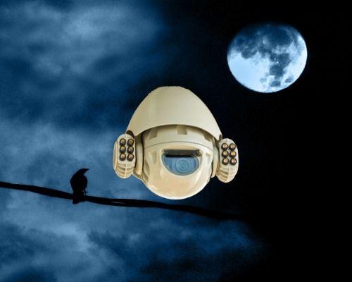 מצלמה תרמית שפע אבטחה מצלמות אבטחה