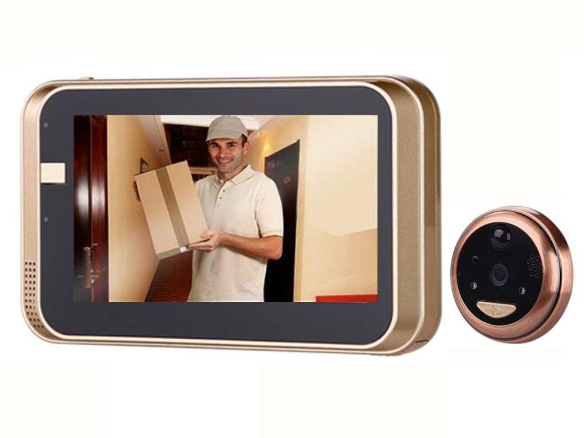 <h3>התקנה עצמאית של מצלמת אבטחה לדלת בחולון</h3>