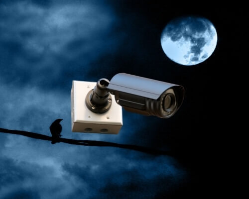 מצלמות אבטחה לחצר