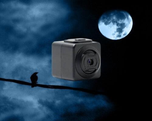 מצלמה זעירה מקליטה