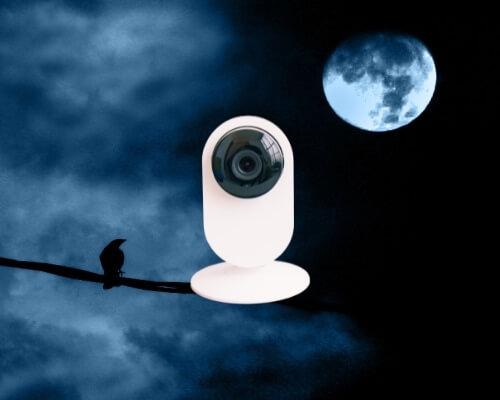 מצלמות אבטחה נסתרות לבית